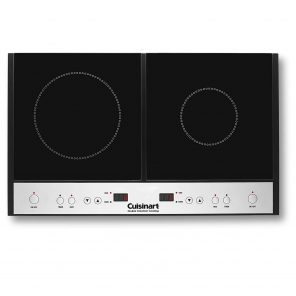 best double induction cooktop from cuisinart