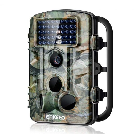 Enkeeo Trail Camera 12mp Wildlife Game Hunting Cam