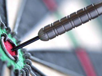 best bristle dart boards